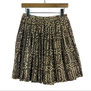 FREE PEOPLE |Vintage 1980's Tribal Print Skirt